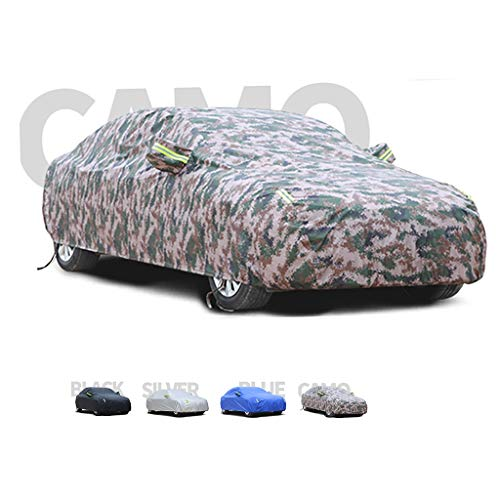 Yguocy Car Covers, Thick and Cotton Velvet Hood, Compatible with Audi TT RS, Can Adapt to All Kinds of Weather (Color : D)