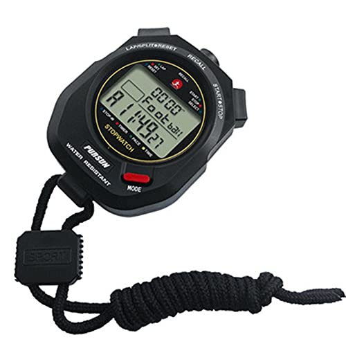 GLLP Stopwatch Timer Training Game Gewijd Fitness Timer Sport Timer