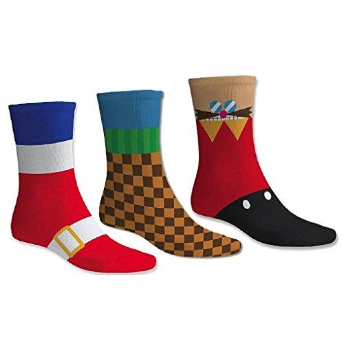 Sega NS0013 Sonic Hedgehog Socks