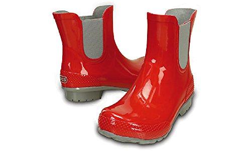 Crocs Chelsea Rain Boot Women Red 42-43