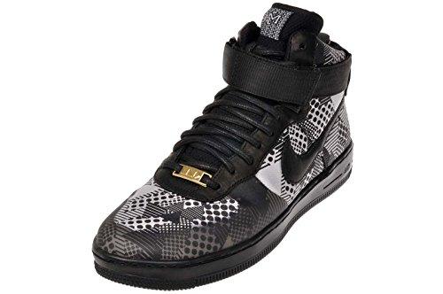Nike Donna Af1 Ultra Force Bhm Qs Hi Top Scarpe Da Ginnastica 717464 Scarpe Da Ginnastica Nero / Nero-bianco