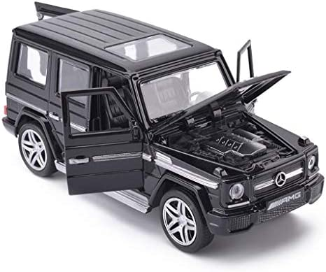 YN モデルカー 1:32モデルカーメルセデスベンツG65AMG合金車の金属モデル付きプルバック子供のおもちゃの車のギフトコレクション装飾品 ミニカー