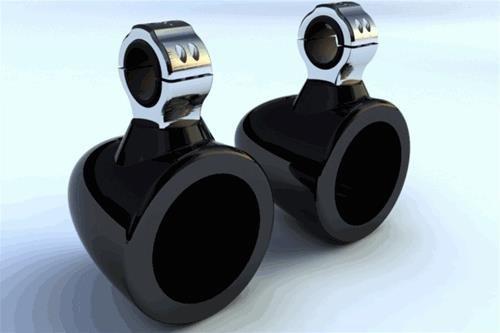Krypt FG1 7.7 Fiber Glass Wakeboard Tower Speaker Enclosures