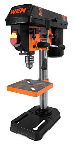 WEN 4208 8 in. 5-Speed Drill Press 15 Degree Adjustable Wrenches