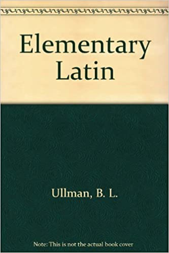 Elementary Latin With Correlated Studies In English B L Ullman Norman E Henry Amazon Com Books