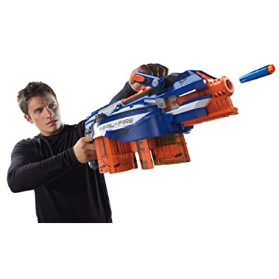 Nerf N-Strike Elite Hail-Fire Blaster(Discontinued by manufacturer): Toys & Games