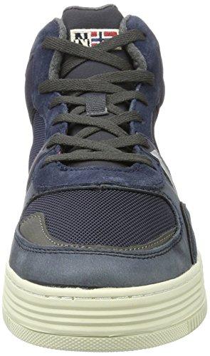 FOOTWEAR Sneaker Blue Collo Alto Uomo N65 Marine a Blu NAPAPIJRI Nestor BTwxdB