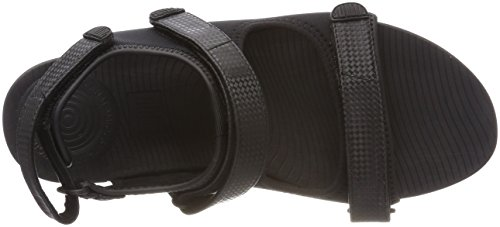 Fitflop Donna Sandali Con Cinturino Posteriore In Neoflex Mix Nero