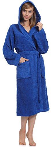 Ladeheid Albornoz para Mujer 100% Algodón LA40-102 Azul (D14)