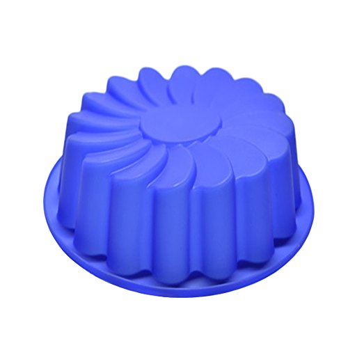 Clearance Tuscom New Large Flower Cake Mould,Chocolate Soap Candy Jelly Mold Baking Pan (Random)