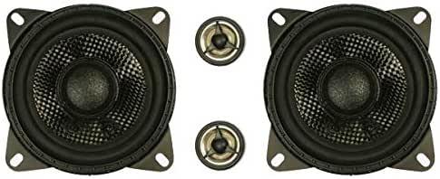 FENNER FE-041 B - Pack de Altavoces para Coche de 80 W (2 vías, 88 ...
