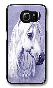Shock-Absorption Back Case for Samsung Galaxy S6 Edge plus Moonlit Horse Scratch Hard Back Case for Samsung Galaxy S6 Edge plus