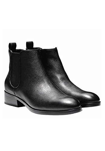 Landsman Cole Ankle Short Leather Black Boot Causal Booties Women's Black Haan wqRPwFO