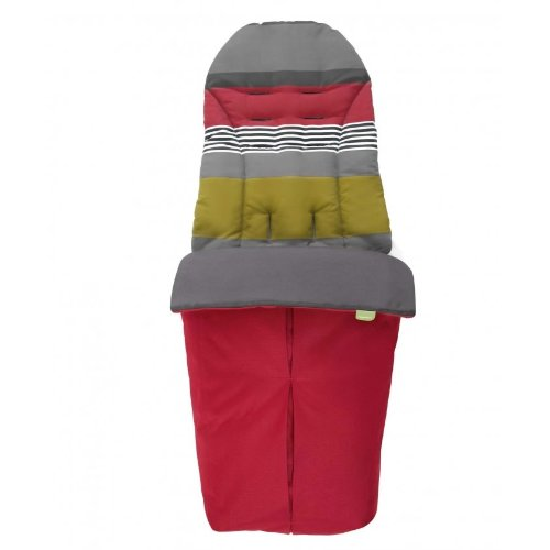 Mamas & Papas Sola Stroller Footmuff - Red