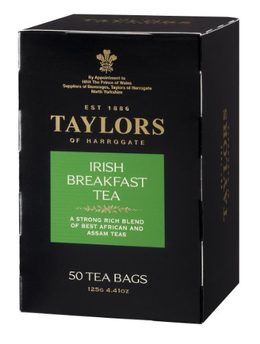 Taylors of Harrogate Irish Breakfast, 50 Teabags (Assam Breakfast Tea)