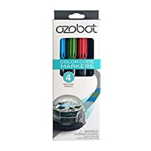 Ozobot Washable Markers, Color Code Drawing, Works with 1.0 and 2.0 Series