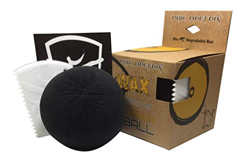 The Cannon Ball Wax Remover w/ Wax Comb