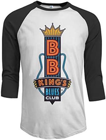 B.B. King's Blues Club B.B. King B.B.キング メンズ ミッド ロング ロングスリーブ Tシャツ