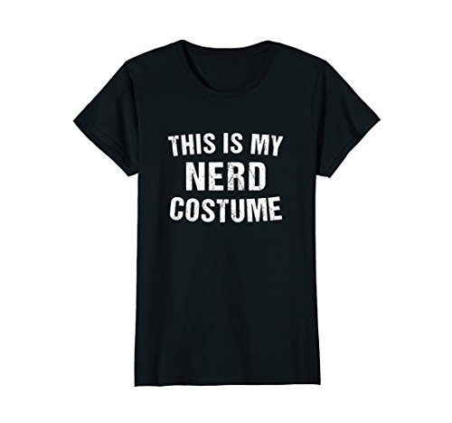 Womens Nerd Costume Geek Halloween T Shirt for Men Women Boy Girl Medium - Female Nerd Costume
