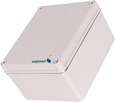 Caja De Plástico ABS Caja Electrónica Caja Del Proyecto Cáscara 5.51x6.69x3.74inch: Amazon.es: Bricolaje y herramientas