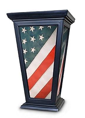 Modemmo American Flag Patriotic Planter