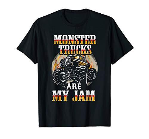 (Funny Monster Truck Shirt Monster Truck Birthday Party)