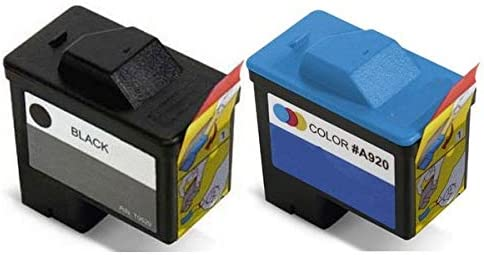 Black//Color Series 1 FN172//FN178MP SuppliesMAX Compatible Replacement for Dell A720//A920 Inkjet Combo Pack