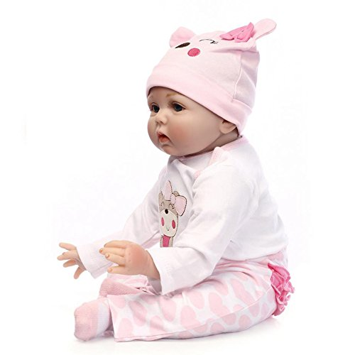 Amazon.com: Baby Handmade Lifelike Newborn Babies Girls Soft Vinyl ...