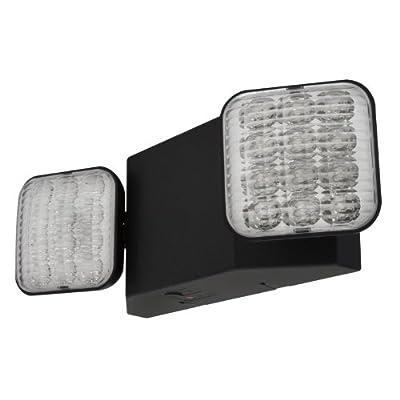 LFI Lights - LED Emergency Light - Black - ELB2