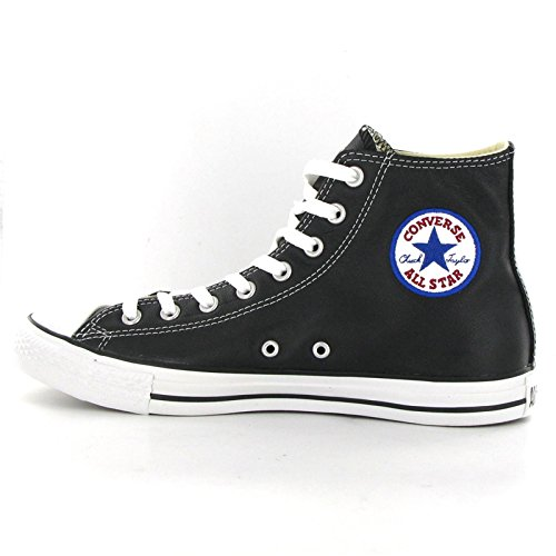 Converse CT All Star Hi Black Leather Womens Trainers Size 5 UK