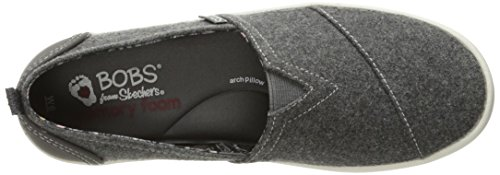 Skechers BOBS Women's Bobs-b Love Flat, Charcoal, 5.5 M US by Skechers (Image #8)'