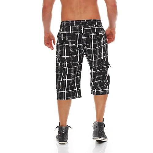 Bermuda Cuadros Cuartos Tres Malito Pantalones Cortos QCBhrxtdos
