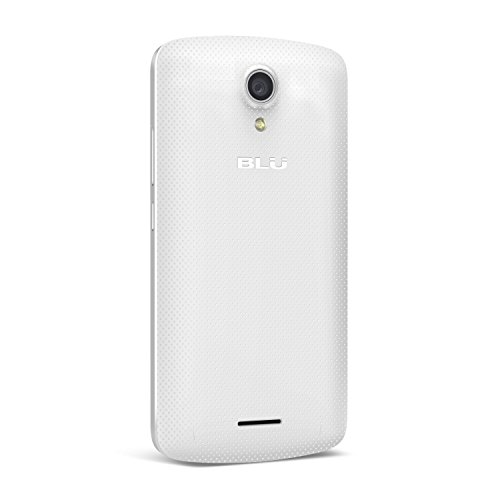 BLU Studio X8 HD - 5.0'' GSM Unlocked Smartphone -White by BLU (Image #2)