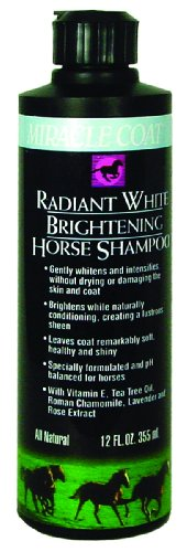 Miracle Coat Radiant White Horse Shampoo 12 oz.