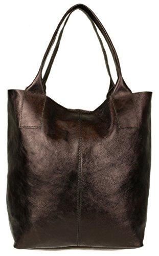Girly Marrón De Mujer Bolso Handbags Para Material Sintético Hombro Al 7nF7Zxrq