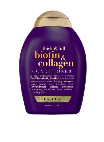 Organix Thick and Full Biotin and Collagen Conditioner, 13 Ounce