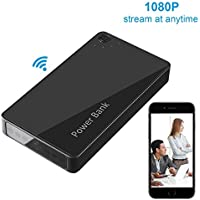 NexGadget 1080P Wireless Power Bank Camera, Motion Detective Record, Support Remote View