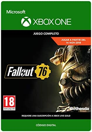Fallout 76   Xbox One - Código de descarga: Amazon.es: Videojuegos