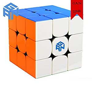 GAN 356R 3x3x3 Speed Cube 3x3 Stickerless Magic Cube Puzzle Toys 56mm