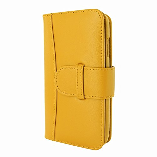 Piel Frama 717 Yellow WalletMagnum Leather Case for Apple iPhone 6 Plus / 6S Plus