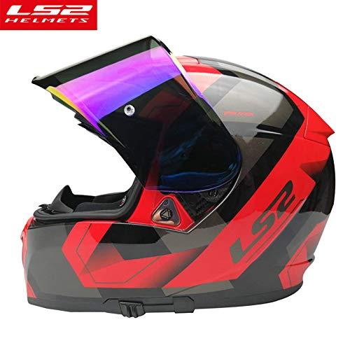 LS2 Anti-Scratch FF390 Breaker Motorcycle Helmet Visor Face Shield (Silver) by LS2 Helmets (Image #3)