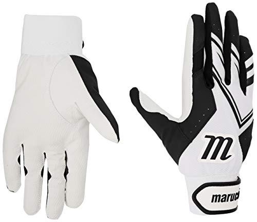 Marucci MBGF5Y-W/BK Youth F5 Youth Batting Gloves, Small