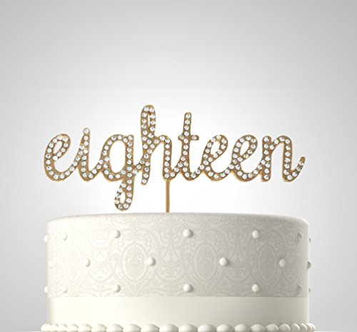 18th Birthday Cake Toppers Shop 18th Birthday Cake Toppers Online