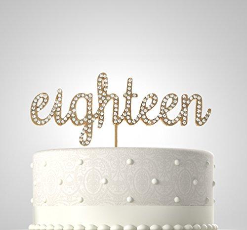 Amazon Cake Toppers Diamond Th Anniversary