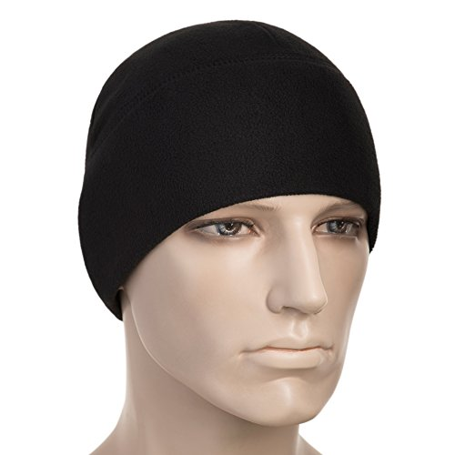 ce 260 Mens Winter Hat Military Tactical Skull Cap Beanie Black (Small, Black) (Microfleece Beanie)
