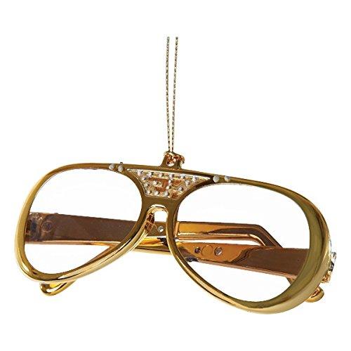 Kurt S. Adler YAMEP2903 Elvis Presley Sunglasses Ornament, 3.5