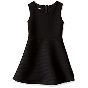 Best Epic Trends 41G11p6DoKL._SS300_ Amy Byer Girls' Big Picture and Flare Textured Knit Dress