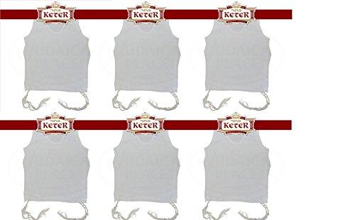 PerfTzit Undershirt Tzitzis Keter Ashkenazi Meyuchad (6, 5) by Keter Judaica (Image #6)