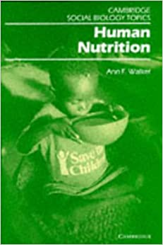 Book Human Nutrition (Cambridge Social Biology Topics)