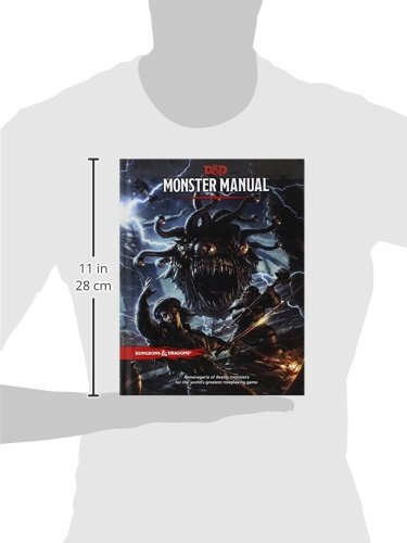 Monster Manual: A Dungeons & Dragons Core Rulebook: Amazon co uk